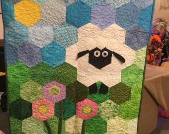 Little lamb quilt