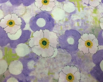 Michael Miller - SPRING ALL OVER (Orchid) - 100% Cotton Premium Quality Fabric - Per 1/2 Yard