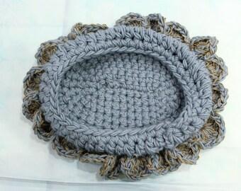 Newborn bowl, newborn photo prop, baby bowl, , crochet cocoon, baby nest, newborn bowl, newborn photography props
