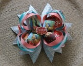Elena of Avalor Stacked Boutique Bow