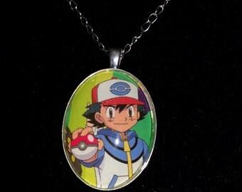 Pokémon Ash Ketchum Large Pendant