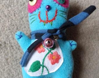 Blue cat Pocket-Zsömpi