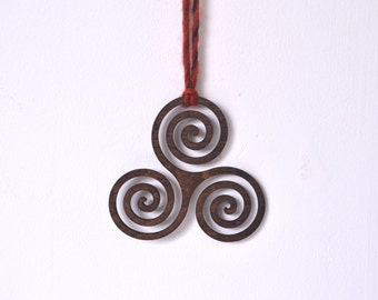 Triskelion, Celtic, sacred geometry, wall art