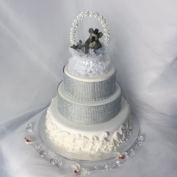 cute animal wedding cake toppers wedding cake topper koala animal wedding cake 13267