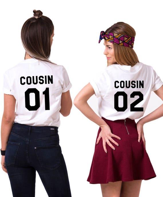 Cousin 01 Cousin 02 Shirts Matching Cousins Shirts Cousin