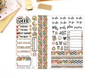 Floral Chic Sticker Insert