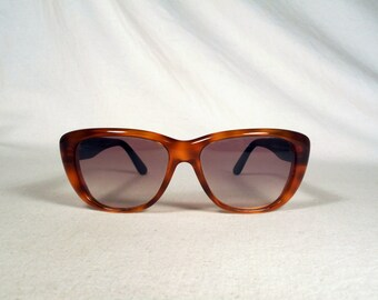 fabulous vintage sunglasses lunettes eyeglasses AZZARO carved frame france