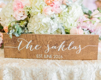 Name Sign, Family name sign, Mr and Mrs Signs, Mr and Mrs, Mr Mrs Table Sign, Last name sign, Wooden Wedding Signs, Mr Mrs signs