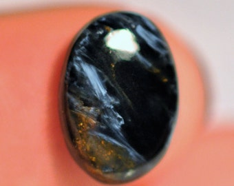 Beautiful Natural Petersite Oval shape Cabochon Ring size. 14x10x3 mm