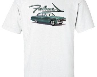 Ford Falcon Custom Hot Rod Antique Classic Muscle Car 4 Door T-Shirt