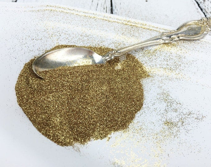CLOSEOUT! One Kilogram Bulk GOLD Biodegradable Glitter Standard Grain / 1 KG