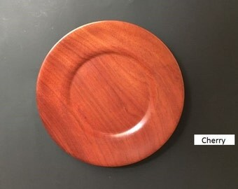 HandTurned Wooden Plates - Multiple Wood Types