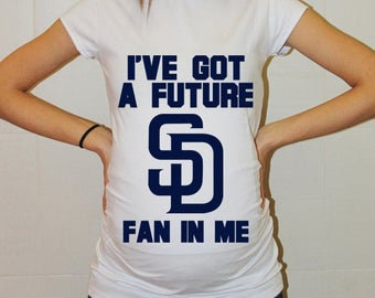 San Diego Padres Baby San Diego Padres Shirt Women Maternity Shirt Funny Baseball Pregnancy Pregnancy Shirts Pregnancy Clothing