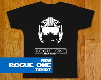 New Star Wars Rogue One T-shirt, Rebel Helmet - Star Wars Shirt Star Wars Art Star Wars Gift Dress Star Wars Party Rogue One