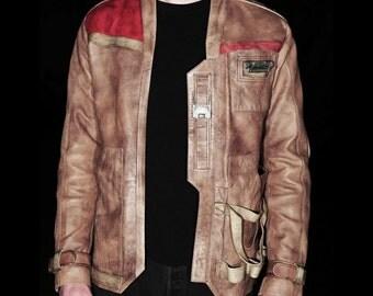 Leather Rebel Flight Jacket