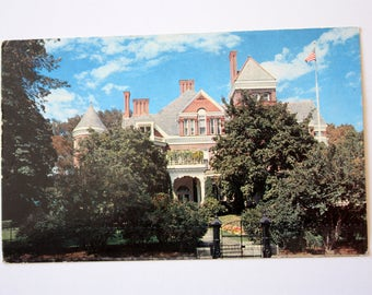 Executive Mansion Albany Postcard 1968 / New York Post card