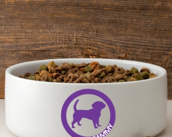 Find Your Dog! Personalized Dog Bowl - Dog Food Bowl - Large Pet Bowl - Water Bowl for Dogs - Dog Dish - Ceramic Dog Bowl - Dog Supplies