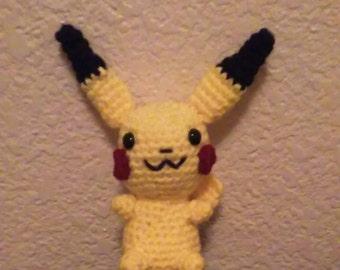 Pikachu Amigrumi