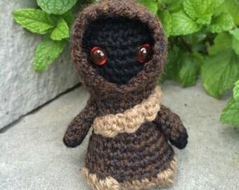 Star Wars Jawa Amigurumi, hand crocheted