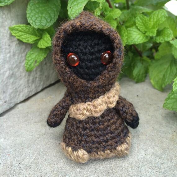 Jawa Star Wars Amigurumi : Star Wars Jawa Amigurumi hand crocheted