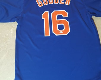 Autographed Doc Gooden Jersey JSA Authenticated