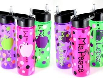 Teacher Water Bottle, Personalized Water Bottle, Personalized Gift, Teacher Gift, Team Gift, Teacher Appreciation