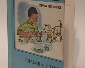 Vintage 1970's Science Book on Change and Time
