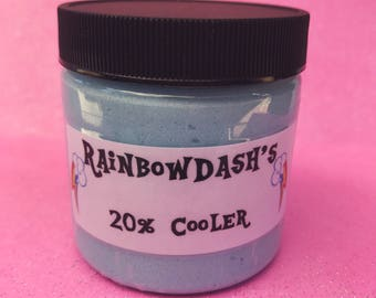 Rainbow Dash's 20% Cooler Blue Raspberry/Cherry Scented Whipped Sugar Scrub