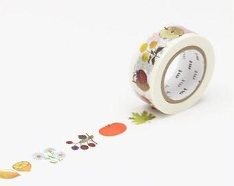 MT Washi Tape Alain Gree Plant, MT x Artist, Decorative Tape, MT Washi Tape, Japanese Washi Tape, mt Masking Tape, Washi Tape 20mm