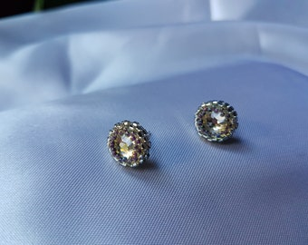stud earrings , miyuki stud earrings , swarovsky crystal earrings.61