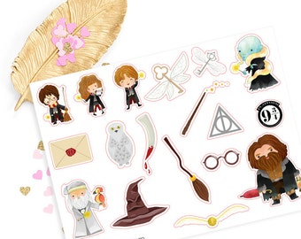 Harry Potter sticker, life planner sticker for kikki k, filofax or erin condren