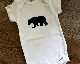 Bear Baby Onesie / Bodysuit, Boy or Girl