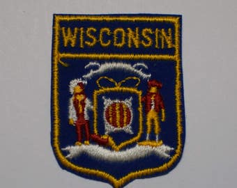 Vintage Wisconsin Patch