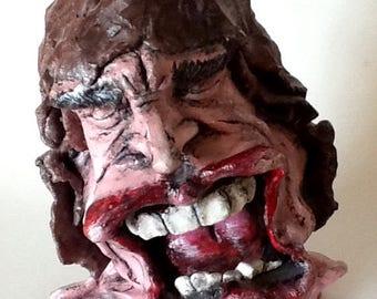 Singing Mick Jagger Sculpture