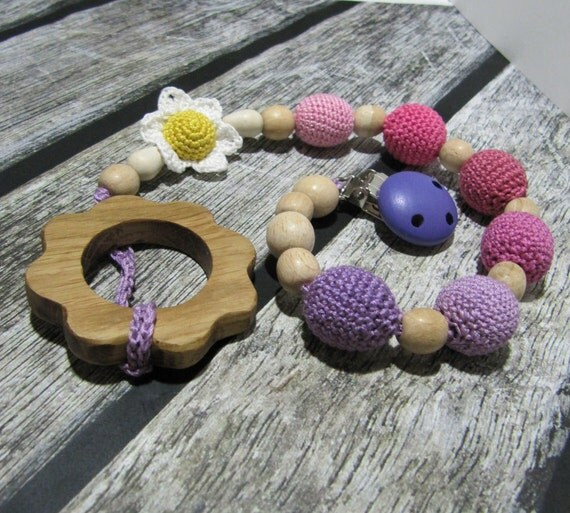 Easter gift organic baby pacifier clip teething toy for baby like this item negle Choice Image
