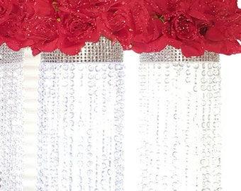 Crystal Chandelier Table Centerpiece (Limited Time Only) -  wedding,floral centerpiece, Candles, Party favor, Cheap Centerpieces, affordable