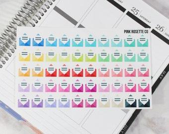 Mail Envelope in Multicolored for Erin Condren Life Planner! 044