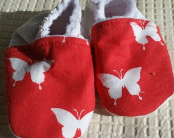 Hand Sewn Baby Booties