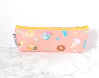 Ice Cream Donut Pencil Case - Pink Pencil Cases - Donut Pencil Bag - Petit Bout 2 France