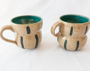 Set of two mugs