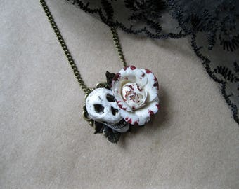 Gothic necklace witch jewelry gothic Lolita vampire necklace Victorian gothic jewelry Halloween necklace black red necklace wiccan necklace