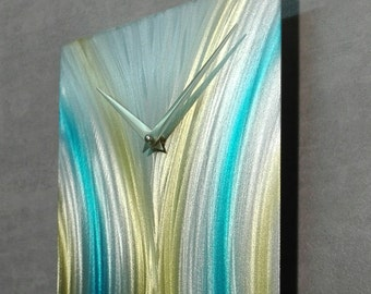 Metal Wall Clock ''HERODOTUS'', Home Decor, Unique Wall Clock, Modern Metal Wall Clock, Metal Wall Art, Office, Metal Painting, Home Gift