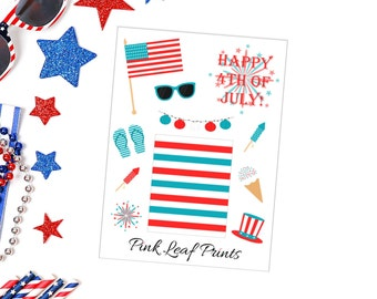 4th of July | Mini Deco Sheet | Planner Stickers