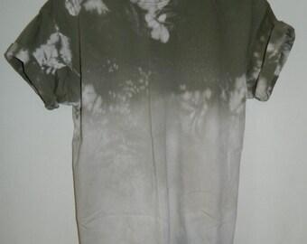 Unique Tie Dye T-Shirt acid wash T-shirt hipster festival trash grunge Retro 90s scrunchy dip dye unisex rave skate top