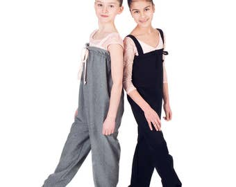 JUMPSUIT - Warm-up in Stretch Cotton