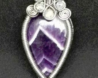 Amethyst and Moonstone