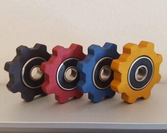 The IDLER EDC ANODIZED Fidget Spinner