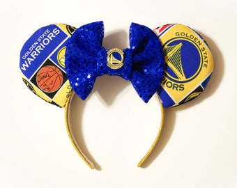 Golden State Warriors Minnie Ears