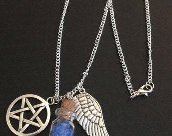 Supernatural / Castiel inspired necklace
