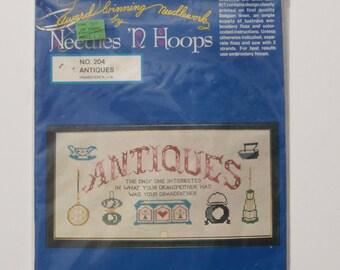 Needles 'N Hoops Antiques Sampler No. 204